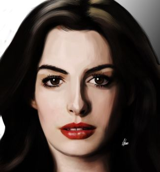 Anne Hathaway by Wild-Theory