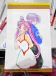 Chibiusa and Trunks AX Commission by ChibiSofa