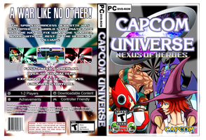 Capcom Universe: Nexus Of Heroes Box Art -DISPLAY- by Dante909
