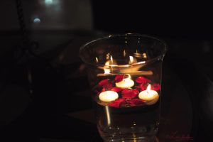 Candles in the Jar by Lensamson