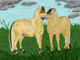 Penelope x Loki by Golden-Horse-Stables