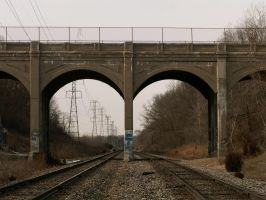 Trowbridge Road Bridge, Oakland County by historicbridges