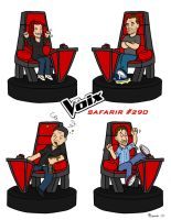 Safarir #290 the Voice Quebec by SuperSaf