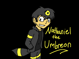 Nathaniel the Umbreon by That-Wacky-Whovian