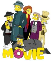Simpsons The Movie by Matsuri1128