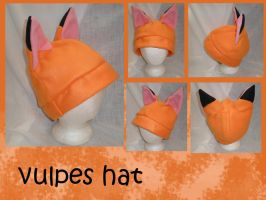Vulpes Hat aka Fox by Gijinkacosplay