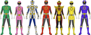Bitoku Sentai Naitoger (New Version) by Omega-King-DX