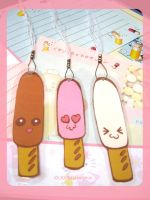 Pocky Bookmarks by kickass-peanut
