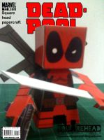 Dead Pool Papercraft by jazzmellon