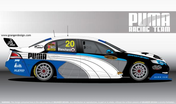 Puma V8 Supercar by GrangerDesign