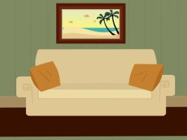 TD Living Room Background by Xanviour