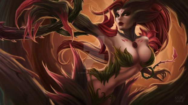 Fan Art: Zyra Rise of the Thorns by Jepoykalboh