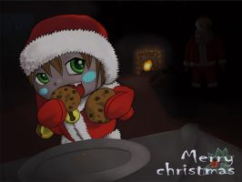 christmas card 2009 version 2 by havydragon