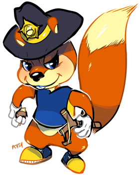 rusty badge by MBLOCK