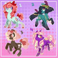 Pony Adopts SOLD by ParfyWarfy