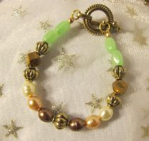 Turquoise Starfish Portal Bracelet by Windthin