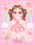 Princess-Peachie Mascot by Princess-Peachie