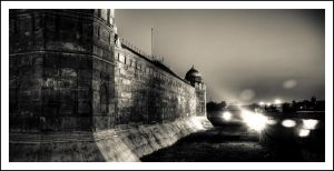 across the moat by sanwahi