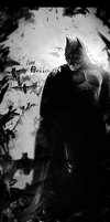 Batman BW by Wcreates