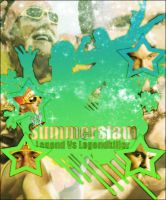 Summerslam Poster by Farkwind