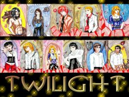 Twilight Collage by IsisConstantine