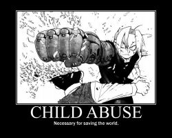 Poster 13 - Child Abuse by Blackdragon102