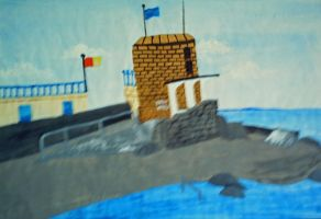 Martello Tower Seapoint by saphirefox