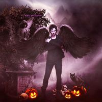 Ian Somerhalder Halloween by ToriaChernenko