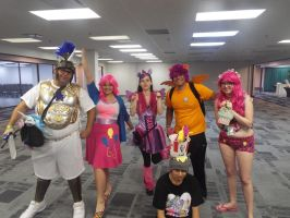 ( MLP ) Some of the Animate!Miami 2014 Bronies! by KrazyKari