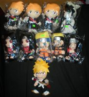 Anime Plushies For Sale 2014 by HinataFox790