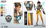 Tracer - Overwatch - Close look at model by PlanK-69