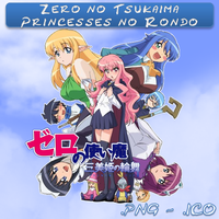 Zero no Tsukaima 3 Princesses no Rondo ICO & P by bryan1213