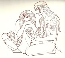 DAO: Elven Family by tahara
