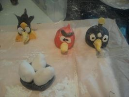 Angry Birds by ALovelessSilhouette