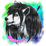 .:Comm: Amaranth Ravy Headshot:. by Mayasacha