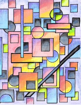 Pencil Abstract Nmbr 139 a by mpe-art