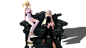 As Simple as Black and White (Catherine Model DL) by Neverlia