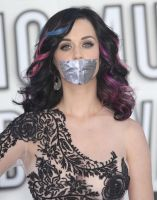 Katy Perry gagged with tape by ikell