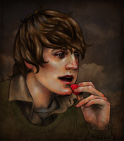 2010 Topher with strawberry by harbek