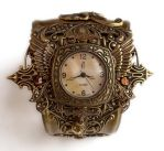 Steampunk Watch Cuff - Floral3 by Aranwen