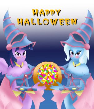Happy Halloween/Nightmare Night! by PikachuMask