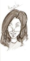 A Caricature Of Kayla by First1stClass