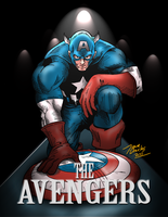 The Avengers by BIG-D-ARTiZ