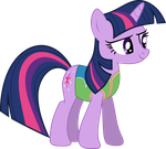 Winter Wrap Up - Twilight Sparkle by Lexuzieel