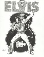 elvis by lryvan