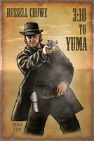 Russell Crowe - 3:10 to Yuma by Kittensoft