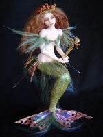 Sea Nymph Mermaid by LindaJaneThomas