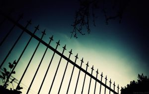 Fence Silhouette by m3tzgore