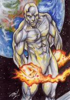 The Silver Surfer by Ethrendil