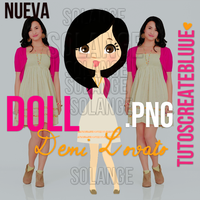 Doll PNG de Demi Lovato by TutosCreateBluue